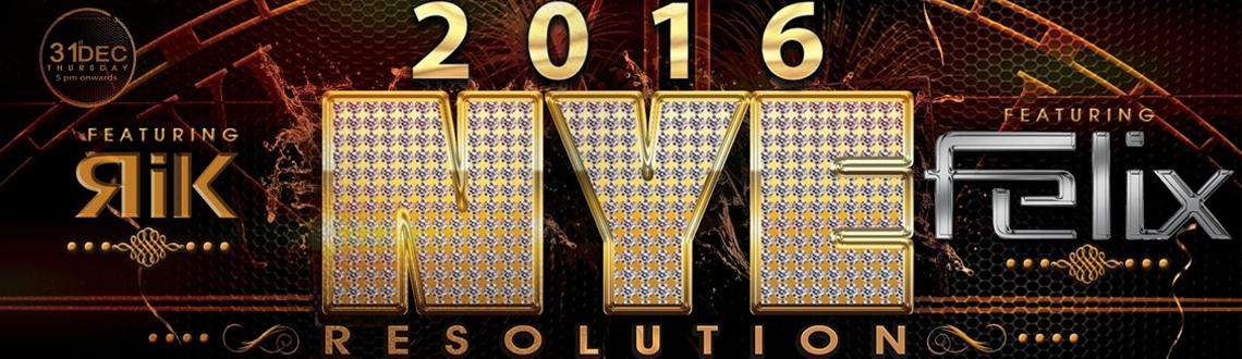 Resolution 2016 NYE Bash