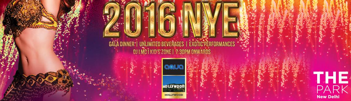NYE 2016 at Aqua Poolside- The Park