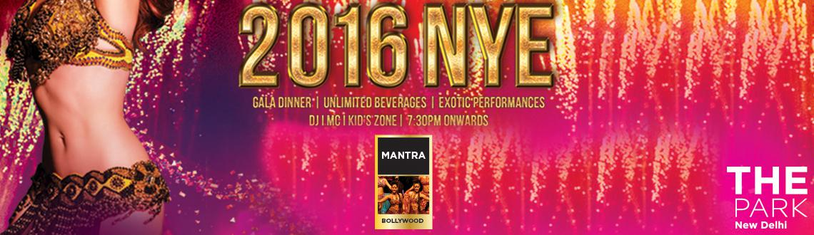 NYE 2016 at Mantra Banquet Hall- The Park