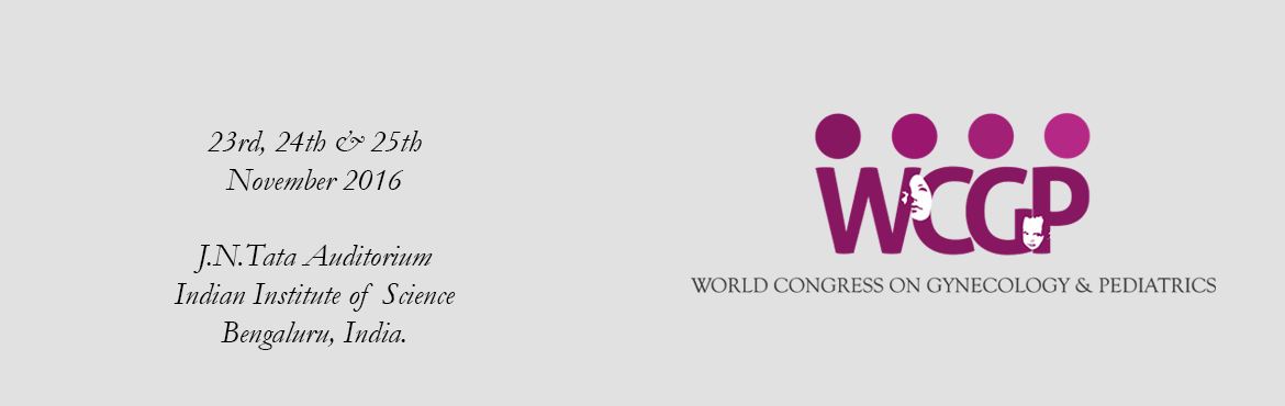 World Congress on Gynecology  Pediatrics - 2016
