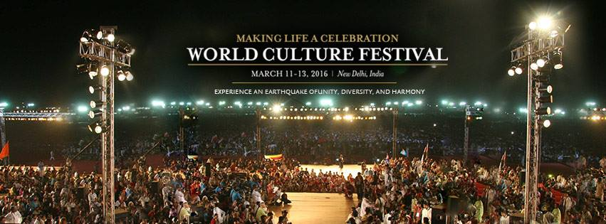 Book Online Tickets for World Culture Festival, NewDelhi. The World Culture Festival 2016 is a celebration of The Art of Living's 35 years of service, humanity, spirituality and human values. The festival will celebrate the diversity in cultures from across the world while simultaneously highlighting