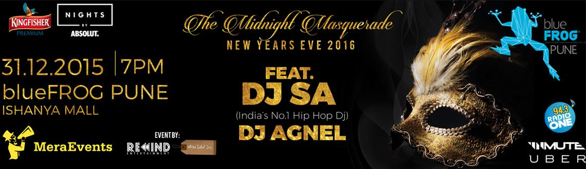 Book online tickets for The Midnight Masquerade Nye 2016. Let's experience with wearing a mask, combined with the best attire. Visit MeraEvents Now.