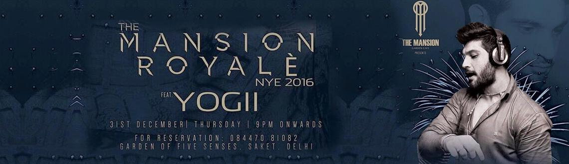 NYE16 at Mansion Royal