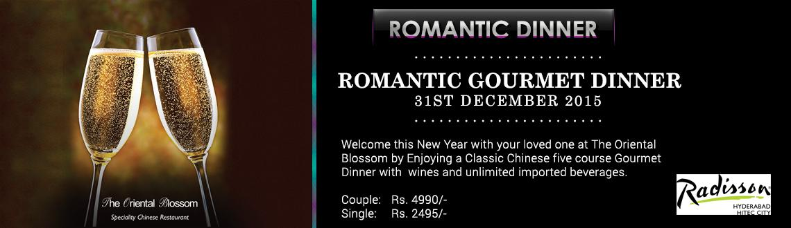 Romantic Gourmet Dinner @Radisson