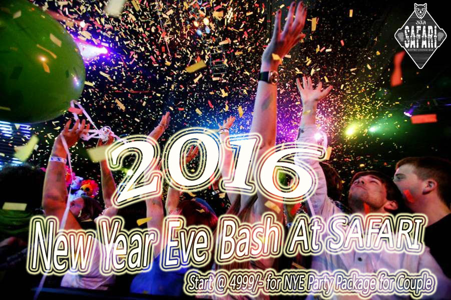 Book Online Tickets for New Year Eve Bash for Couples - At SAFAR, Connaught. New Year Eve Bash for Couples - At SAFARI with DJ GILL Live Performance on BEAT
