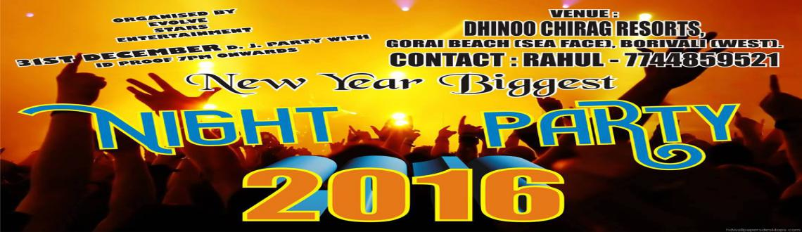 Book Online Tickets for New Year Eve Party, Mumbai.                                           ??G
