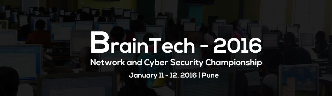 BrainTech Network and Cyber Security Championship at MIT College of Engineering, Pune on 11th and 12th January 2016