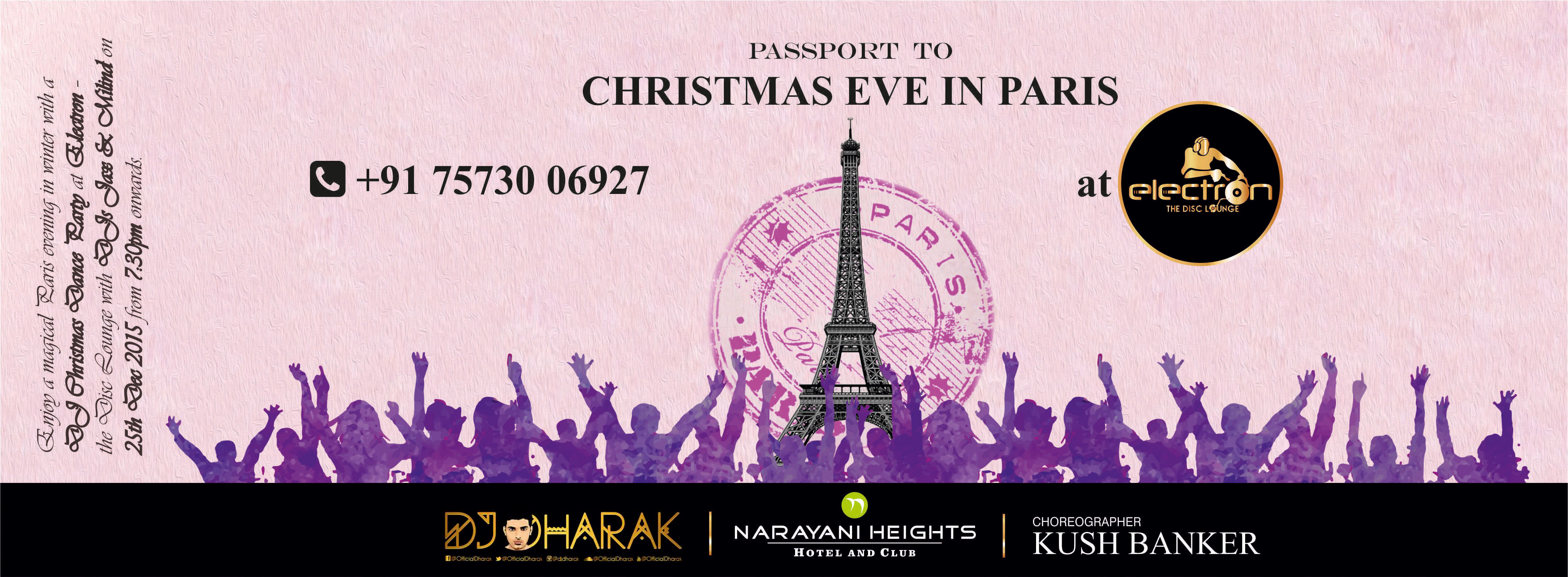 X-mas eve in Paris/dj night@Electron disc lounge