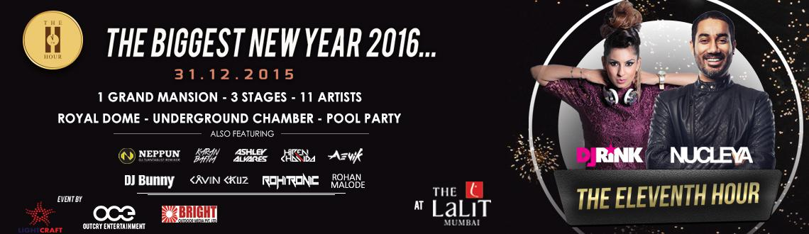 Book online tickets for the Eleventh Hour - New Year 2016. Let's experience The Eleventh Hour a Mansion Themed party Mumbai. Visit MeraEvents N