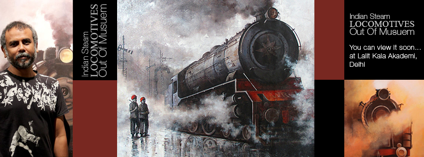 Book Online Tickets for Indian Steam Locomotives out of Museum, NewDelhi. 