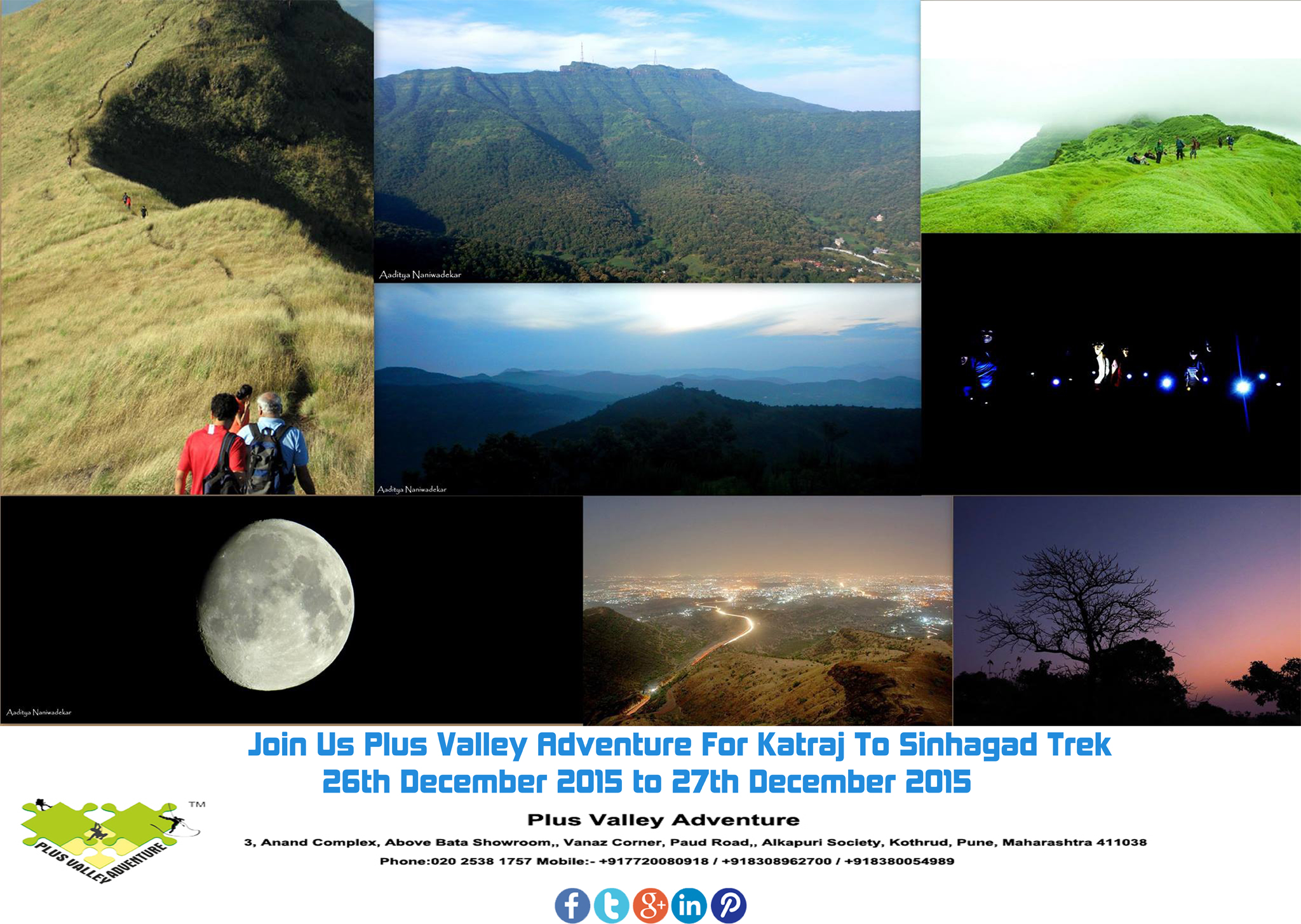 """Book Online Tickets for  Katraj To Sinhagad (K2S), Pune. Katraj to SinhagadKatraj to Sinhagad or as we call it """"K2S"""" is a popular monsoon trek for professional trekkers, amateurs and newbie's. The route starts from the Katraj Tunnel Top (Old), travels through a series of mountains and hil"""