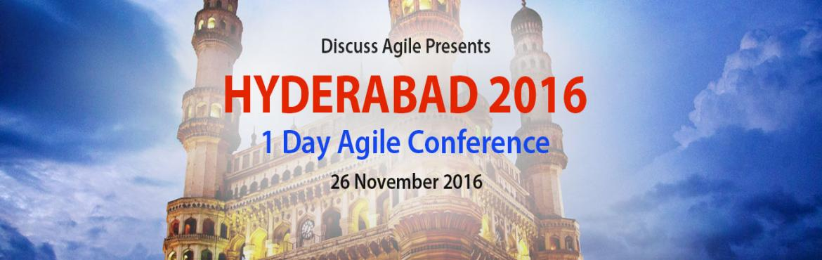 "Book Online Tickets for DiscussAgile Day- Hyderabad, Hyderabad. Discuss Agile is the most popular Agile communities in India, hosting regular events, both offline and online, focused on Agile and Scrum implementation. ""DiscussAgile Day"", an event supported by Scrum Alliance and iZenBridge, is here now"