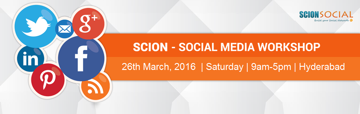 Social Media Marketing Workshop HYD March 2016