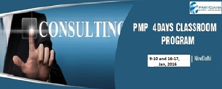 PMP DELHI Feb2016 4 DAYS CLASSROOM PROGRAM