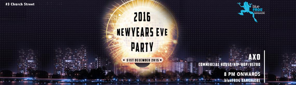 blueFROG Bangalore presents NYE party