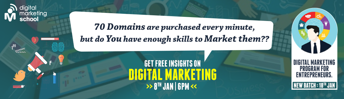 Book Online Tickets for Insights on Digital Marketing, Hyderabad. Insights on Digital Marketing  \\\