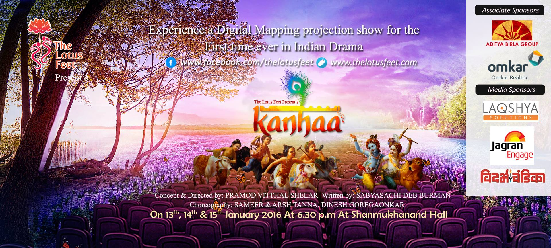Book Online Tickets for Kanhaa... A Divine Adventure, Mumbai.  