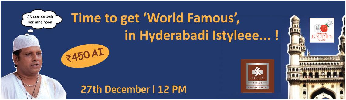 Hyderabadi Istyleee...