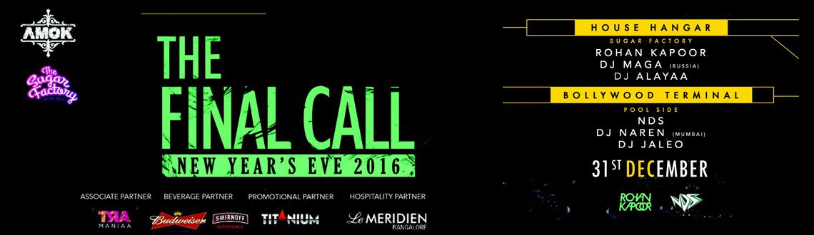 The Final Call New Years Eve 2016