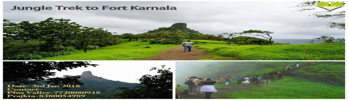 Book Online Tickets for  Jungle Trek to Fort Karnala, Pune. Karnala fort is situated about 20 Km south of Panvel situated in the middle of Karnla bird sactuary. This fort is counted as one of the best winter treks since the weather is pleasant and you can see a lot of bird activity in the jungle. This fort be