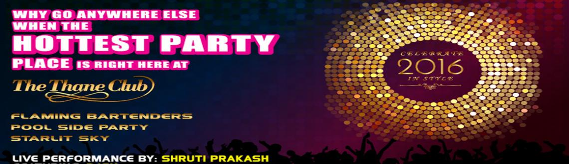 New Year Bash @The Thane Club