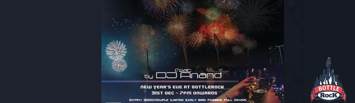 Book Online Tickets for  New Years Eve with DJ Anand @ BottleRoc, Pune. Tick Tock, Tick TockAs the New Year begins and the old one ends,We\\\'d love to celebrate, Join us for the big countdown atBottleRock - Restaurant & LoungeFeat : DJ AnandThrusday, 31st. Dec.Time: 07:00 PM Onwards.Entry: 3000/Couple (L