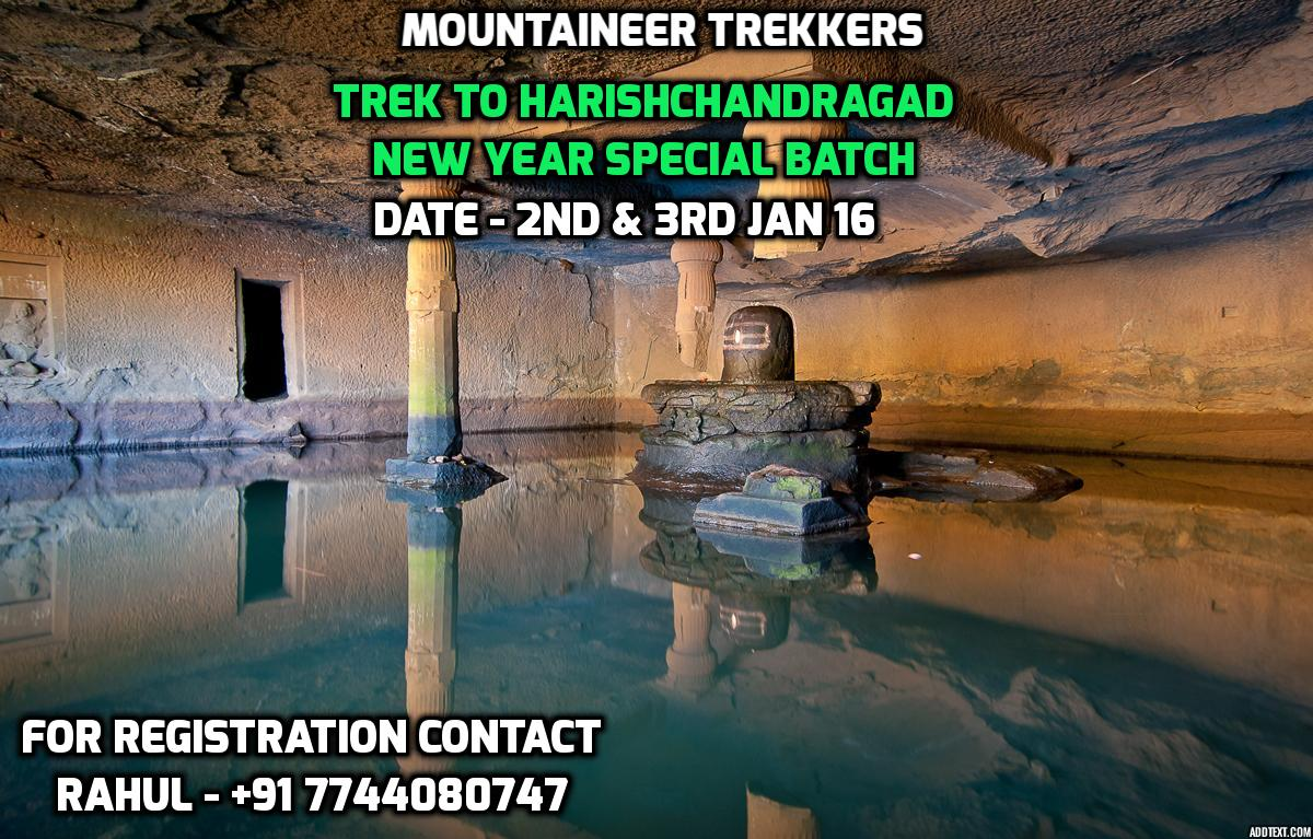 Book Online Tickets for Trek to Harishchandragad - Trekkers Para, Akole. Begin the Year with Natures trail !!!  Two days treks, camp fire,  experience of sleeping under  the stars 🌟🌟🌙🌙🌌🌠