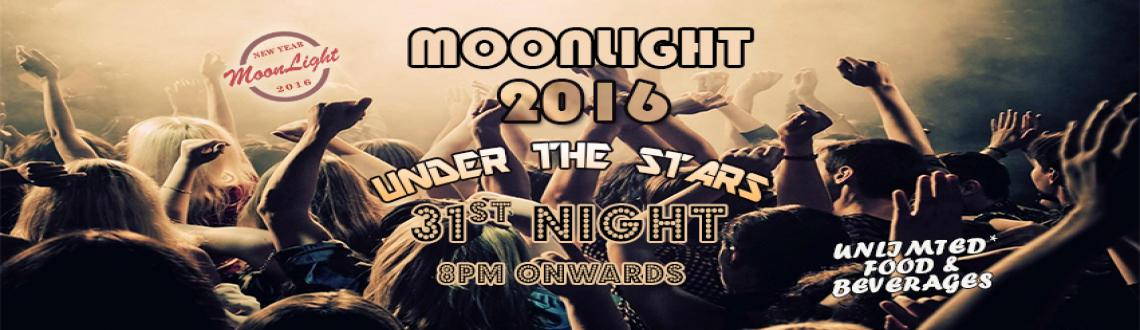 Book Online Tickets for Moonlight NYE 2016, Hyderabad. Who's invited? Stags, couples