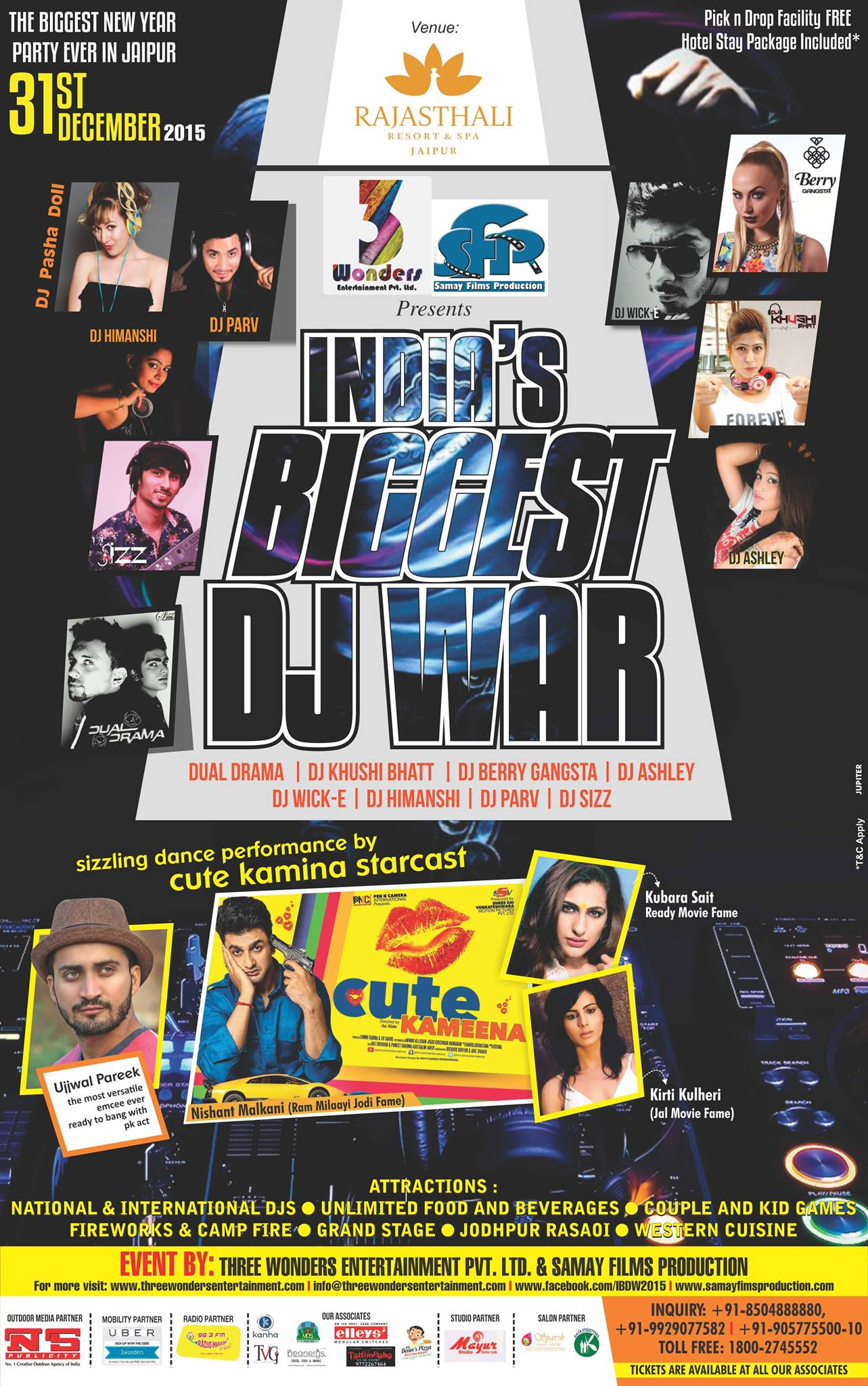 The Biggest New year party ever in jaipur