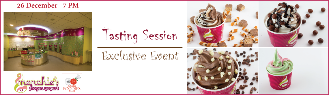 Menchies Tasting Session - Yogurt Only