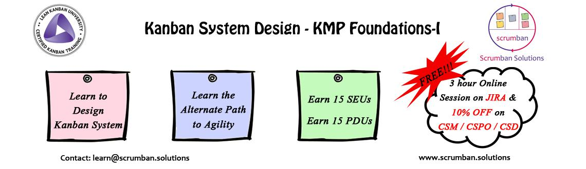 LKU Certified Kanban System Design : KMP-I | Delhi | 19-20 March 2016