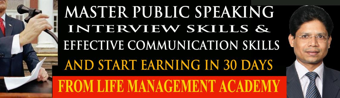 Book Online Tickets for Master Public Speaking and start earning, Hyderabad. Professional Development Program to start Income in 30 days: