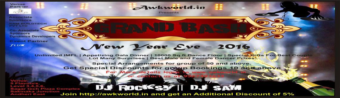New Years Grand Bash