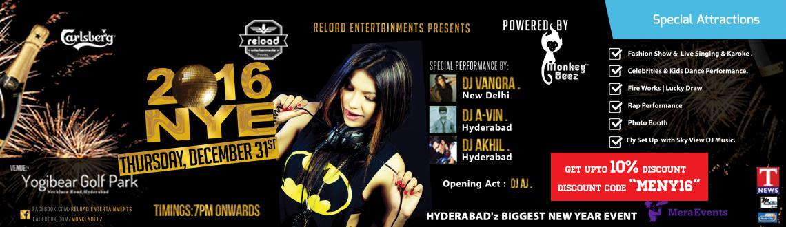 NYE 16 Hyderabadz Biggest at Yogi Bear Park
