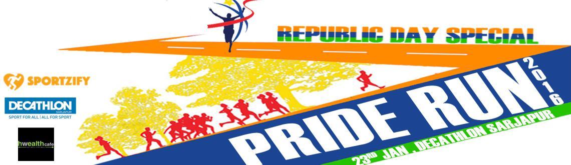 Pride run 2016 3k,5k,10k at Decathlon Sarjapur