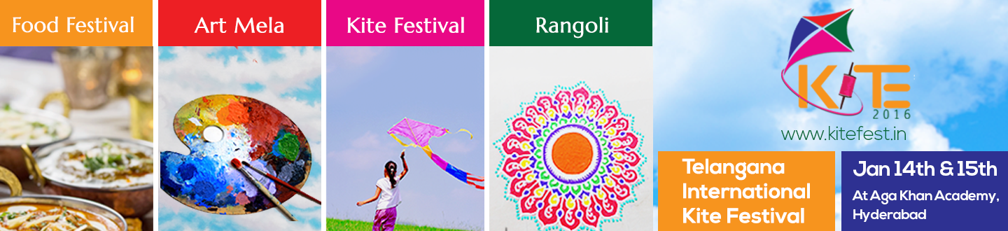 Book online tickets for Telangana International Kite Festival 2016 and enjoy your Pongal celebrations with family.Book tickets Now.