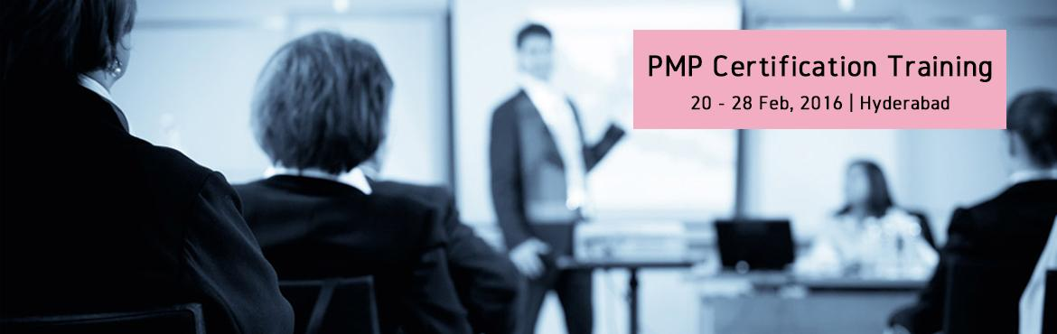 PMP Certification Training-Feb2016-Hyderabad