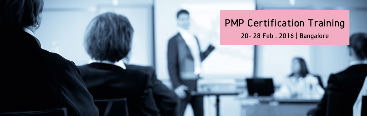 PMP Certification Training-Feb2016-Bangalore