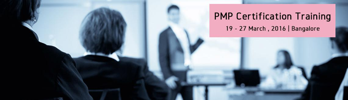 PMP Certification Training-Mar2016-Bangalore