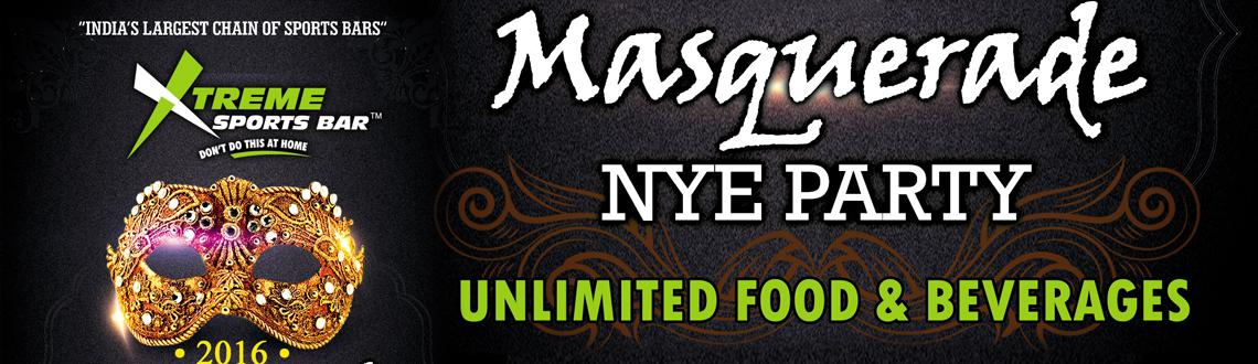 Book Online Tickets for Xtreme Sport Bar Masquerade Party, Hyderabad. 