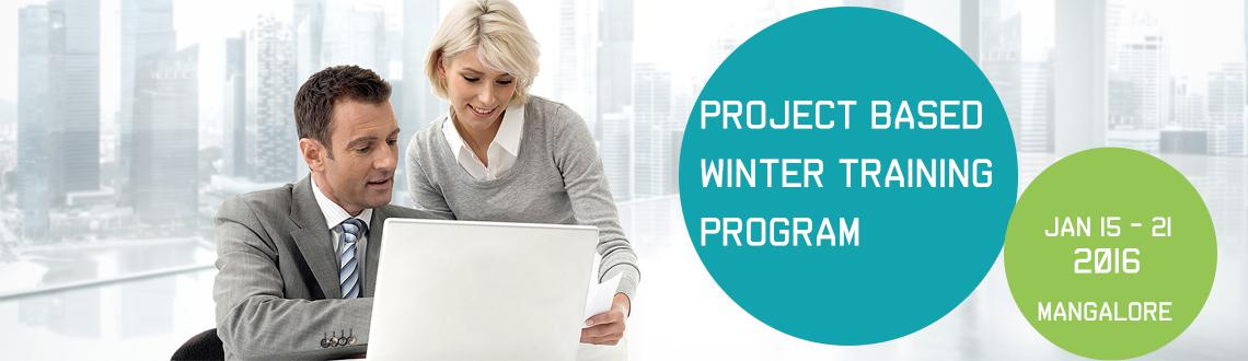 Book Online Tickets for Project Based Winter Training Program 20, Mangalore. Project Based Winter Training Program 2015-16 by Azure Skynet across India!!!  Dear Student, Greetings from Azure Skynet !!! We are happy to inform you that Azure Skynet is launching its 7 Days Project Based Winter Training/Internship Progr