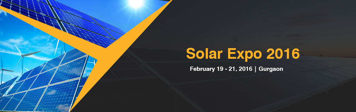 Solar Expo 2016 Gurgaon