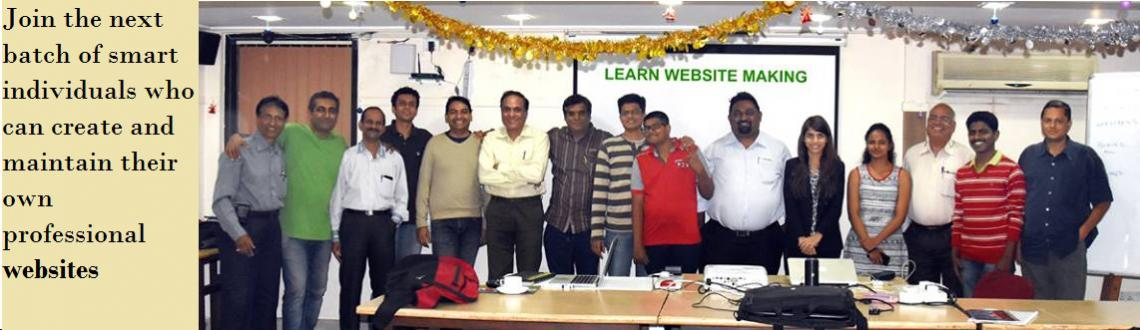 Book Online Tickets for Learn Website Making Feb 2016, Mumbai.   Hi! My name is Rishi Gangoly.    I will teach you to create your own website in just one day!    Guaranteed!!!       Learn Website Making   It\'s Cheap & Easy   Day & Date : Sunday 21 F