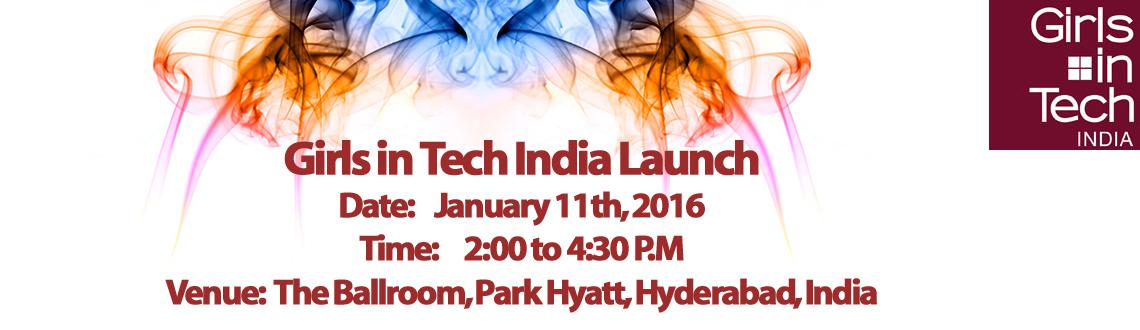 Girls in Tech India Launch