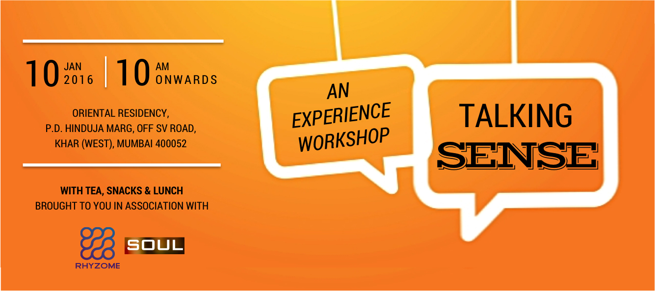 Talking Sense - An Experience Workshop