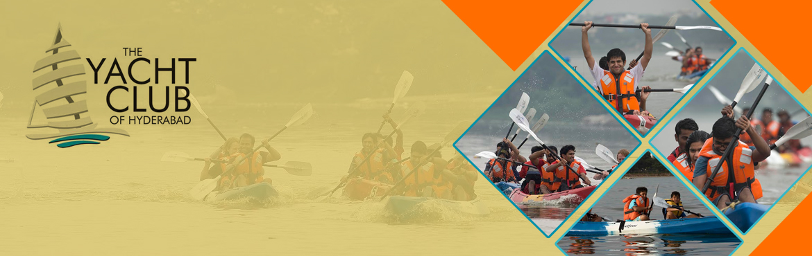 Book Online Tickets for Fun Kayaking at Hussain Sagar , Hyderabad. Bookings available only for Saturday and Sunday mornings at 7:00 AM On other days by prior appointment only.  Meraevents price : Rs.550/-    Direct Rs.650  A blast of Flat Water Kayaking that teaches you to steer a Kayak the fun w