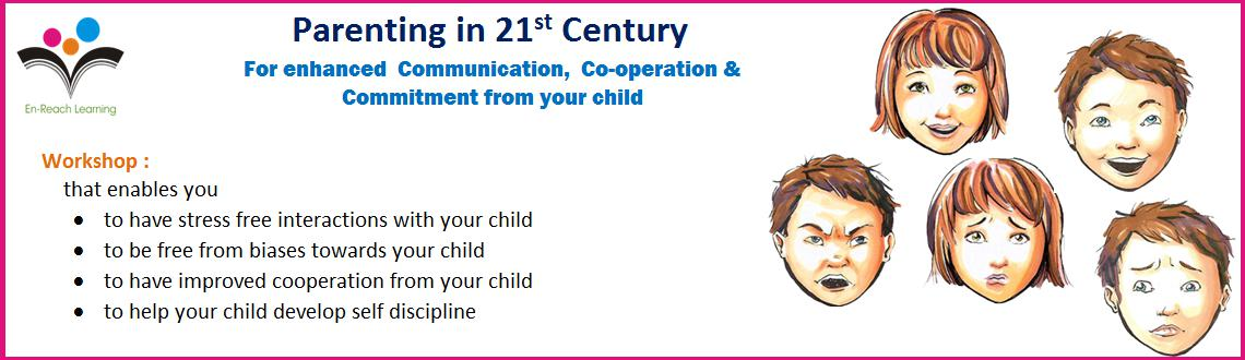 Book Online Tickets for Parenting in 21st Century (workshop), Pune.  