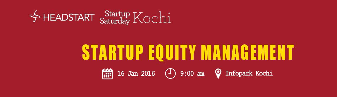 Book Online Tickets for Startup Saturday Kochi January Edition -, Kochi. Startup Saturday is one of the biggest startup events to take place every month and explores various topics that helps a startup Entrepreneur.