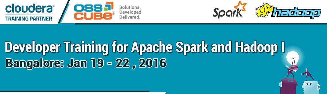 Cloudera Developers Training for Spark and Hadoop l
