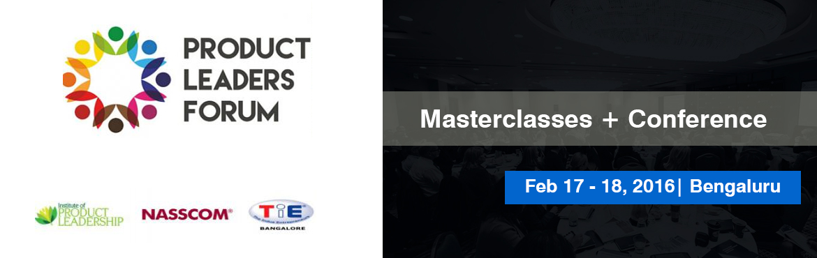 Product Leaders Forum - Masterclasses